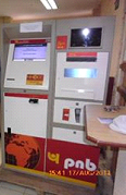 PNB Electronic Cheque Deposit Machine
