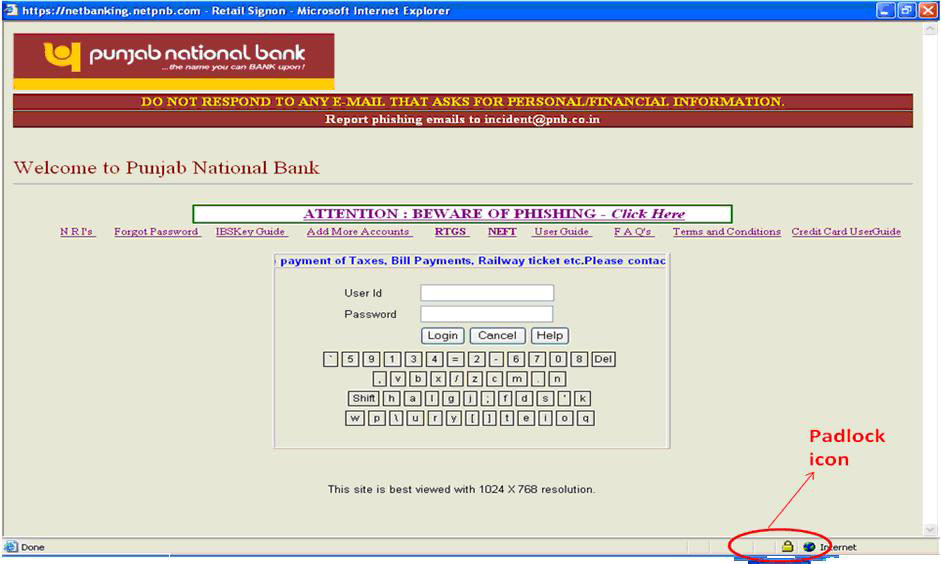 Punjab National Bank Security Alerts Scam And Fraud Notices